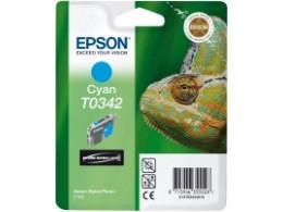 Epson 2100 Cyan blekk T0342