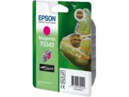Epson 2100 Magenta blekk T0343