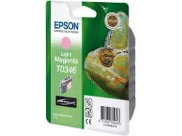 Epson 2100 Light Magenta blekk T0346
