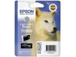 Epson 2880 Light Light Black blekk T0969