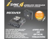 Strobies iSYNC 4 trådløs blitzmottaker (Kun mottak