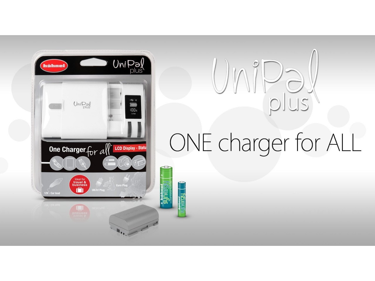 HAHNEL UNIPAL UNIVERSAL LADER Power.no
