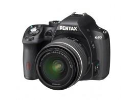 Pentax K-50 DSLR Hus Sort 18-55 WR