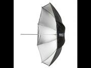 PRIO Standard sølv paraply 100cm