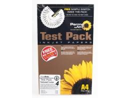 Permajet Test Pakke 2011 A4 Textured FA