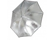 Interfit Paraply - Sølv 91cm - 8mm stang