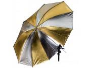 Interfit Paraply - Gull/sølv