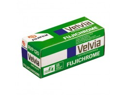 Fujichrome Velvia 50 120 RVP (*)