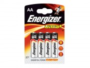 Batteri Energizer Ultra + AA x4pk
