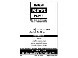 Imago Positive RC papir 8x10