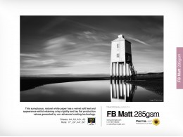Permajet Delta Matt fibre 285 A3 25pkn