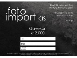 gavekort2000
