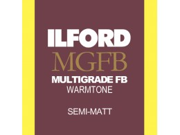 Ilford MGFB Warmtone Semimatt 24x30/50 (*)