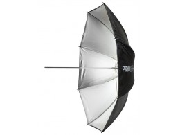PRIO Stor sølv paraply 185cm